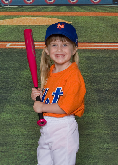 Mia Moore Mountain View Mets T-Ball 2012