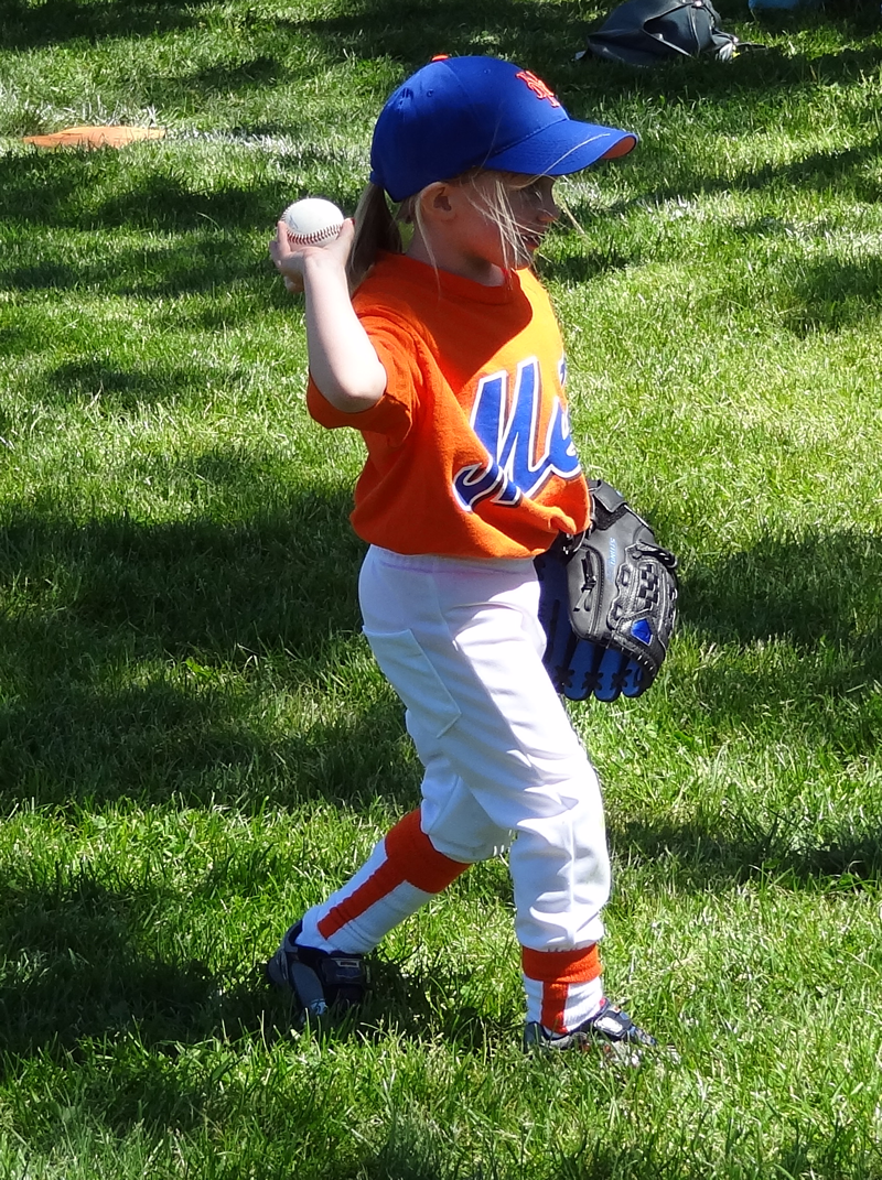 Mia Moore Mets T-Ball 2012